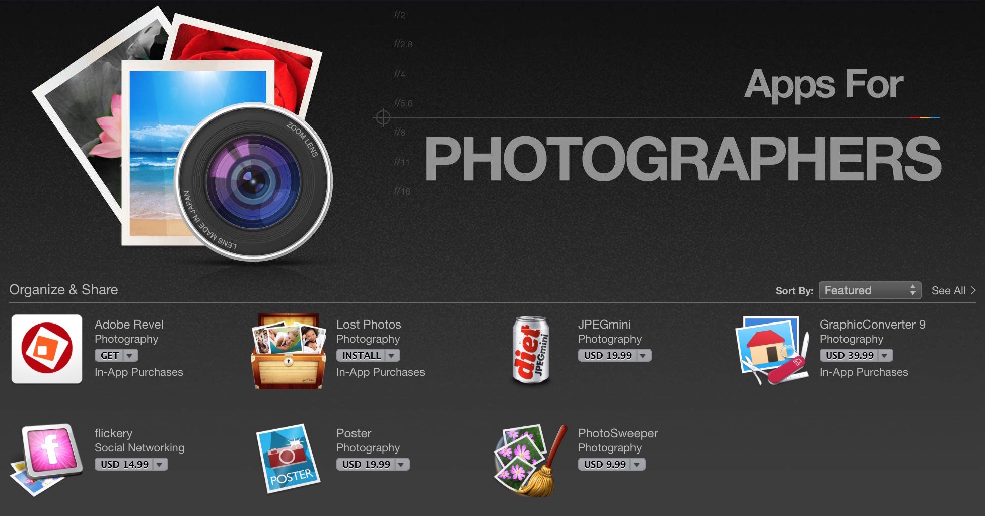 Apps for Photographers